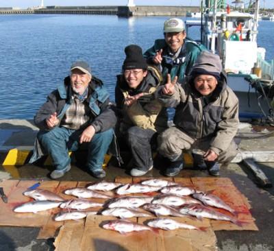 塩川先生と鯛釣り