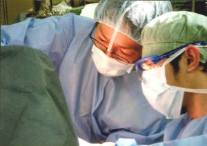 済生会松阪総合病院在職時の、手術の様子